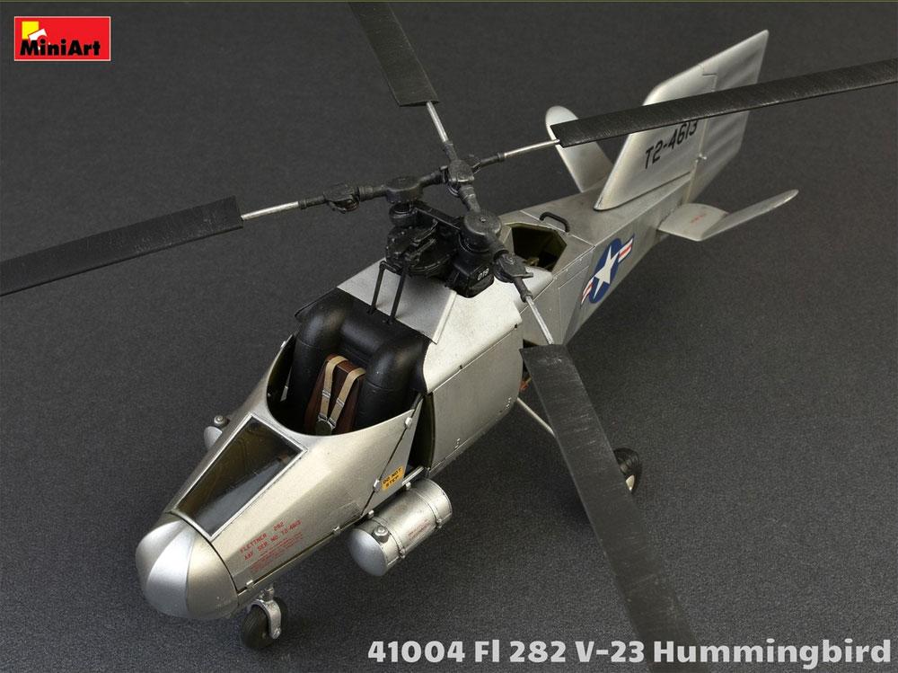 FL282 V-23 ハミングバード コリブリプラモデル(ミニアートエアクラフトミニチュアシリーズNo.41004)商品画像_2