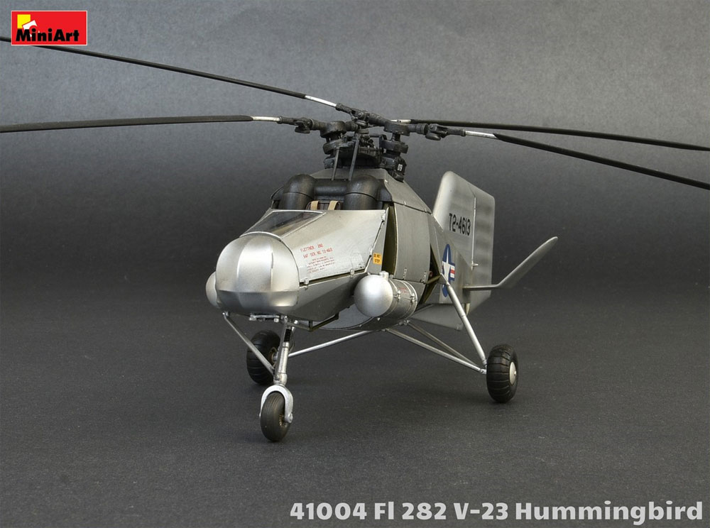 FL282 V-23 ハミングバード コリブリプラモデル(ミニアートエアクラフトミニチュアシリーズNo.41004)商品画像_3