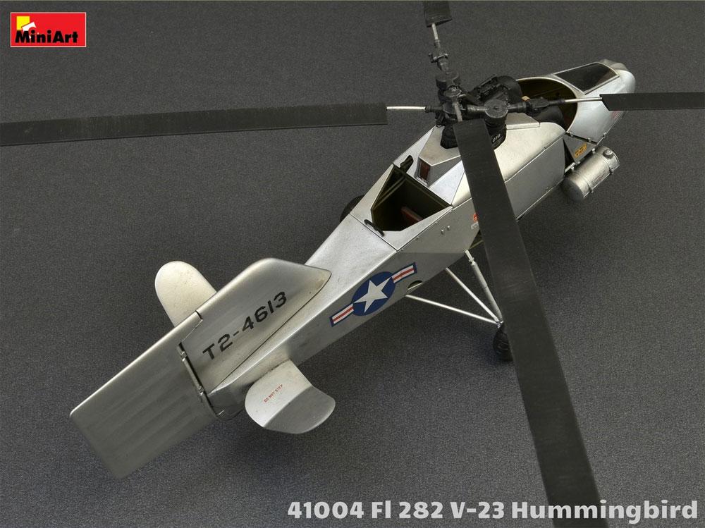 FL282 V-23 ハミングバード コリブリプラモデル(ミニアートエアクラフトミニチュアシリーズNo.41004)商品画像_4