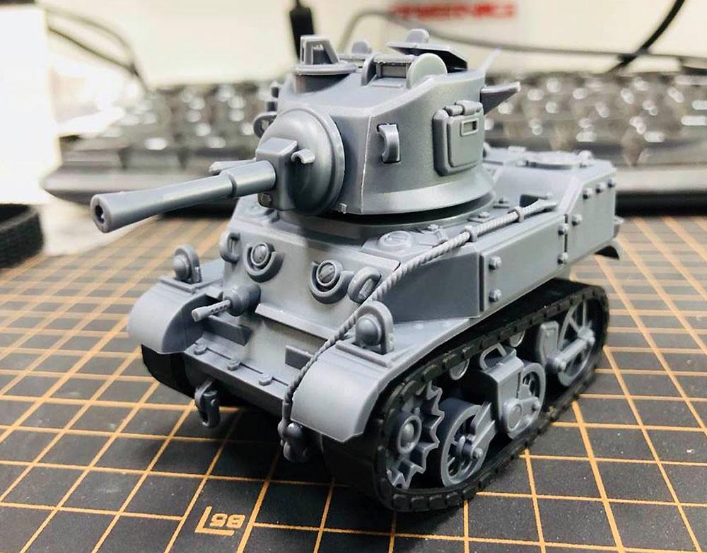アメリカ 軽戦車 M5 スチュアートプラモデル(MENG-MODELWORLD WAR TOONSNo.WWT-012)商品画像_2