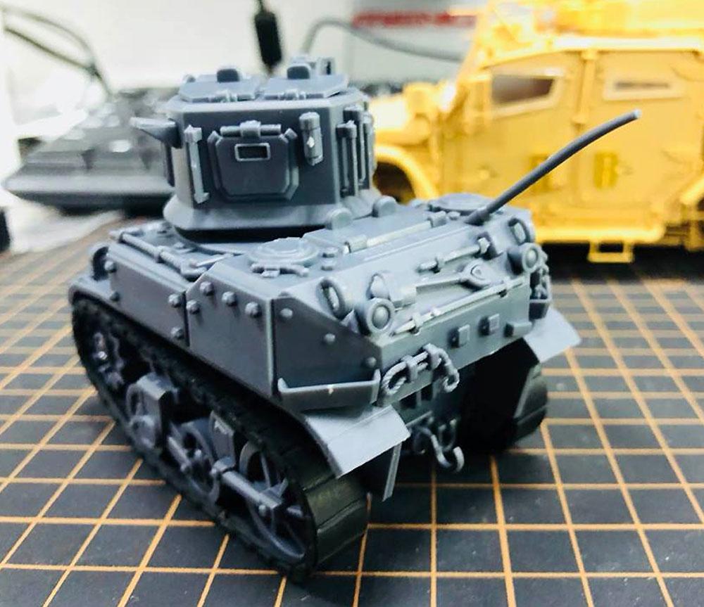 アメリカ 軽戦車 M5 スチュアートプラモデル(MENG-MODELWORLD WAR TOONSNo.WWT-012)商品画像_3