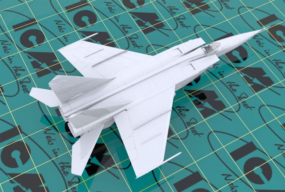 MiG-25 RBTプラモデル(ICM1/72 エアクラフト プラモデルNo.72172)商品画像_3