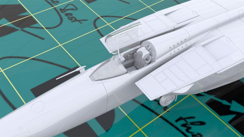 MiG-25 RBTプラモデル(ICM1/72 エアクラフト プラモデルNo.72172)商品画像_4