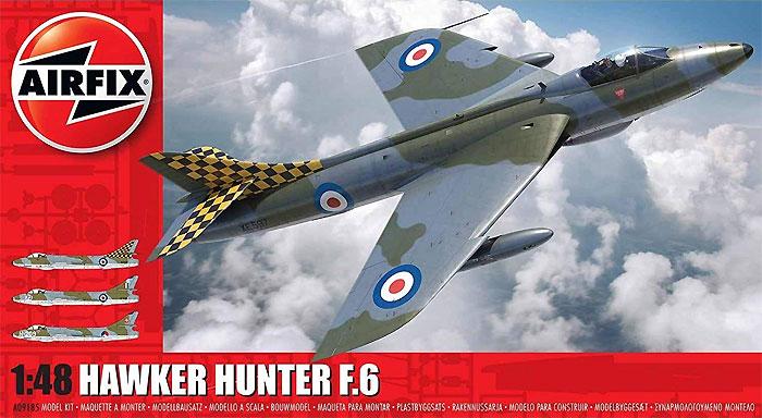 ホーカー ハンター F.6プラモデル(エアフィックス1/48 ミリタリーエアクラフトNo.A09185)商品画像