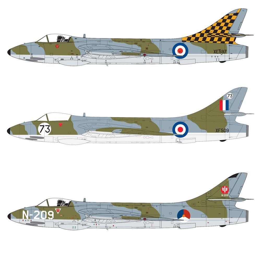 ホーカー ハンター F.6プラモデル(エアフィックス1/48 ミリタリーエアクラフトNo.A09185)商品画像_1