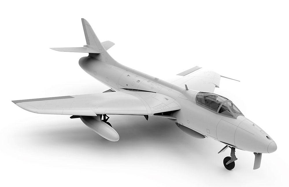 ホーカー ハンター F.6プラモデル(エアフィックス1/48 ミリタリーエアクラフトNo.A09185)商品画像_2
