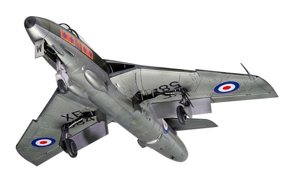 ホーカー ハンター F.6プラモデル(エアフィックス1/48 ミリタリーエアクラフトNo.A09185)商品画像_4