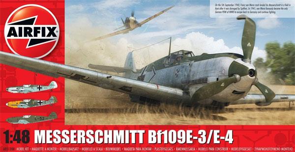メッサーシュミット Bf109 E-3/E-4プラモデル(エアフィックス1/48 ミリタリーエアクラフトNo.A05120B)商品画像