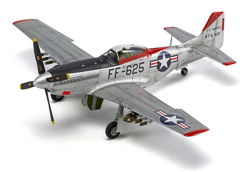 ノースアメリカン F-51D マスタングプラモデル(エアフィックス1/48 ミリタリーエアクラフトNo.A05136)商品画像_2