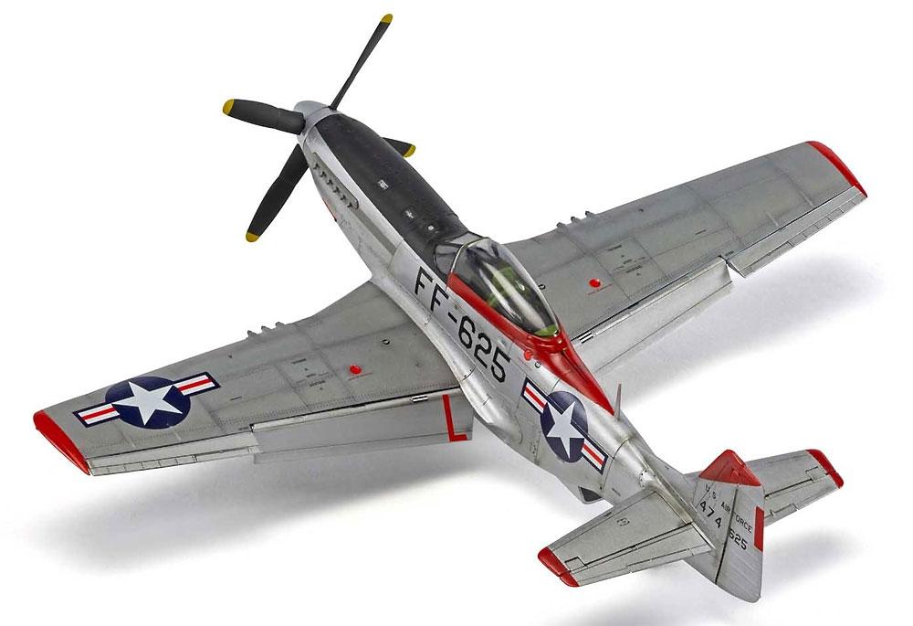 ノースアメリカン F-51D マスタングプラモデル(エアフィックス1/48 ミリタリーエアクラフトNo.A05136)商品画像_3