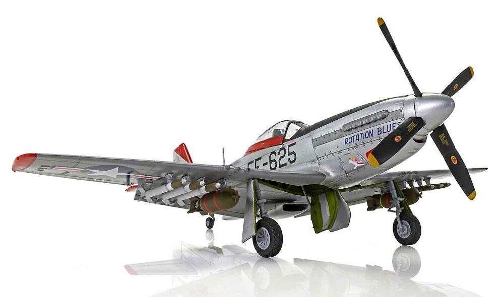 ノースアメリカン F-51D マスタングプラモデル(エアフィックス1/48 ミリタリーエアクラフトNo.A05136)商品画像_4