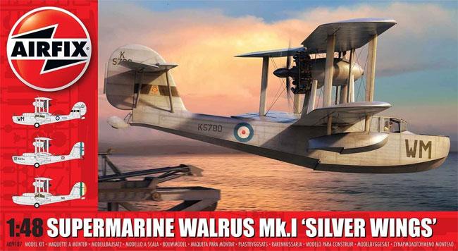 スーパーマリーン ウォーラス Mk.1 シルバーウイングスプラモデル(エアフィックス1/48 ミリタリーエアクラフトNo.A09187)商品画像