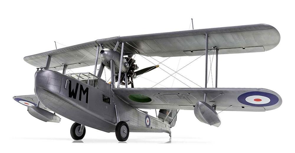スーパーマリーン ウォーラス Mk.1 シルバーウイングスプラモデル(エアフィックス1/48 ミリタリーエアクラフトNo.A09187)商品画像_2