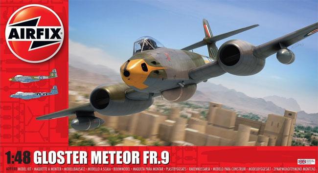 グロスター ミーティア FR.9プラモデル(エアフィックス1/48 ミリタリーエアクラフトNo.A09188)商品画像