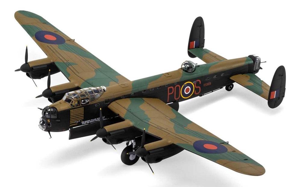 アブロ ランカスター B.3プラモデル(エアフィックス1/72 ミリタリーエアクラフトNo.A08013A)商品画像_2