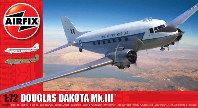 ダグラス ダコタ Mk.3プラモデル(エアフィックス1/72 ミリタリーエアクラフトNo.A08015A)商品画像