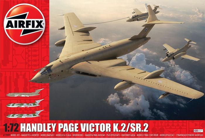 ハンドレページ ヴィクター K.2/SR.2プラモデル(エアフィックス1/72 ミリタリーエアクラフトNo.A12009)商品画像