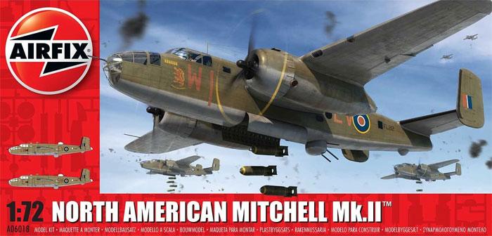 ノースアメリカン ミッチェル Mk.2プラモデル(エアフィックス1/72 ミリタリーエアクラフトNo.A06018)商品画像