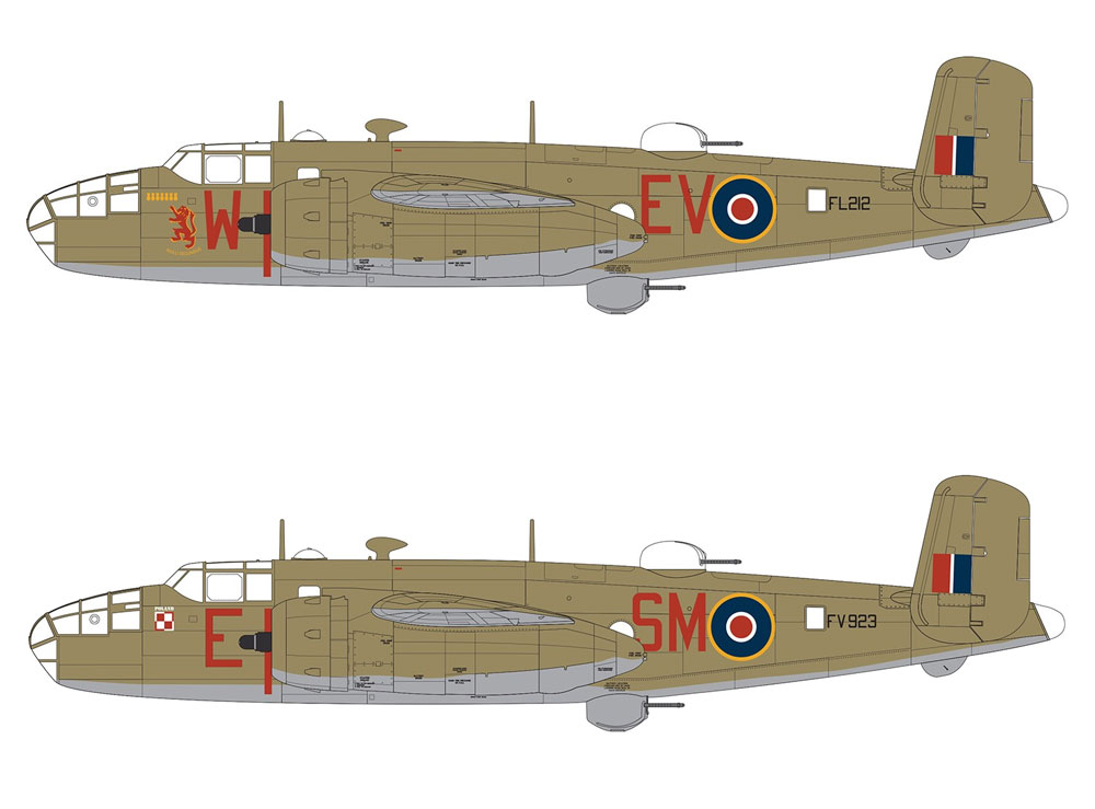 ノースアメリカン ミッチェル Mk.2プラモデル(エアフィックス1/72 ミリタリーエアクラフトNo.A06018)商品画像_2