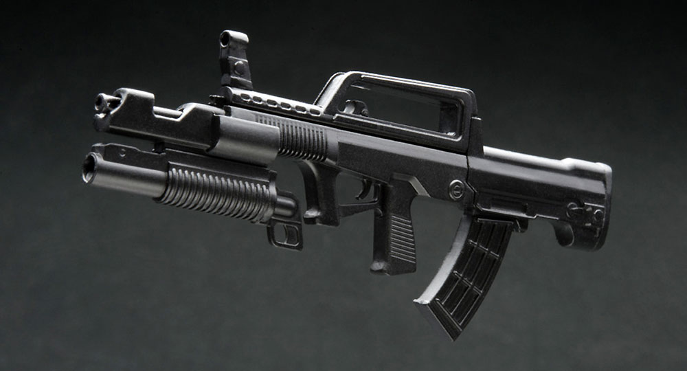 95TYPE (95式自動小銃)プラモデル(橘猫工業1/12 ARMED WORLDNo.AW-001)商品画像_4