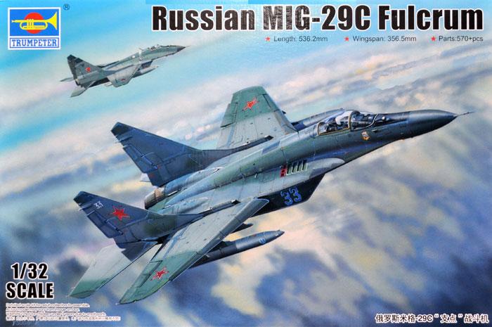 MiG-29C ファルクラムプラモデル(トランペッター1/32 エアクラフトシリーズNo.03224)商品画像