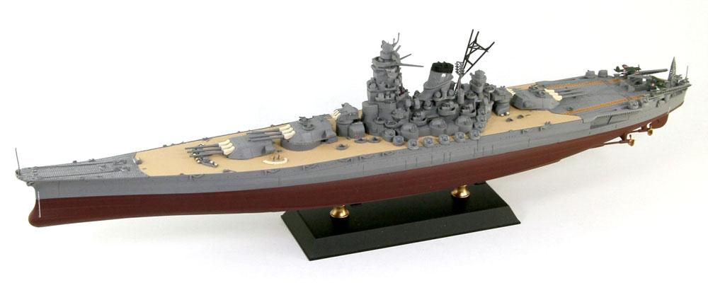 日本海軍 戦艦 大和 最終時プラモデル(ピットロードWP 1/700 第2次大戦 艦プラキットNo.WP001)商品画像_2