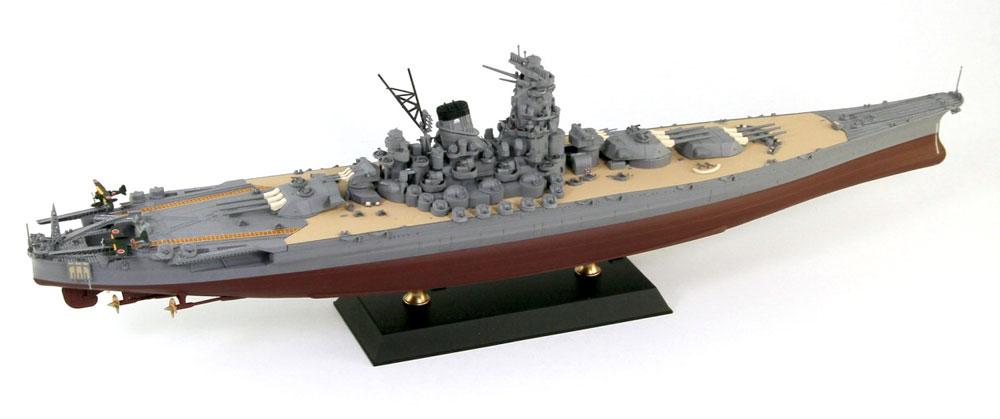 日本海軍 戦艦 大和 最終時プラモデル(ピットロードWP 1/700 第2次大戦 艦プラキットNo.WP001)商品画像_3