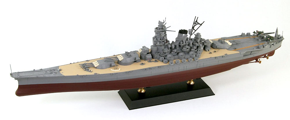 日本海軍 戦艦 大和 最終時完成品(ピットロードWPM 1/700 塗装済完成品No.WPM001)商品画像_1