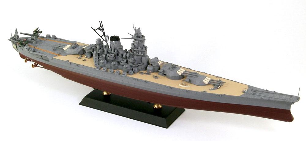 日本海軍 戦艦 大和 最終時完成品(ピットロードWPM 1/700 塗装済完成品No.WPM001)商品画像_2