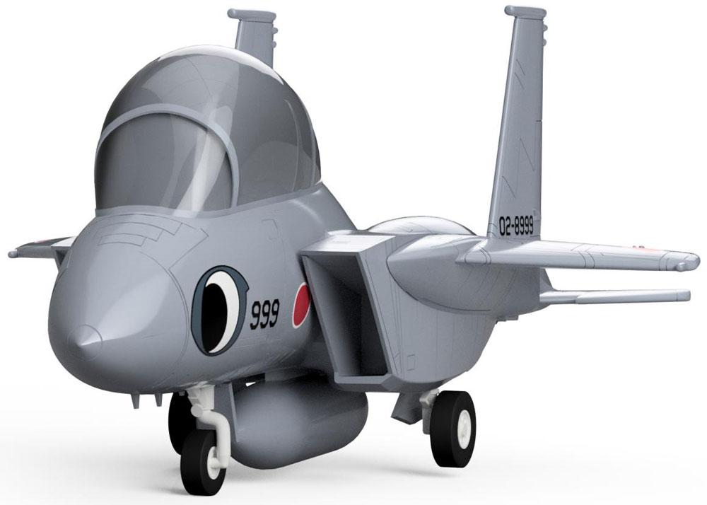 OTF F-15J まそたん フォックストロットプラモデル(ピットロードひそねとまそたんNo.PD078)商品画像_4