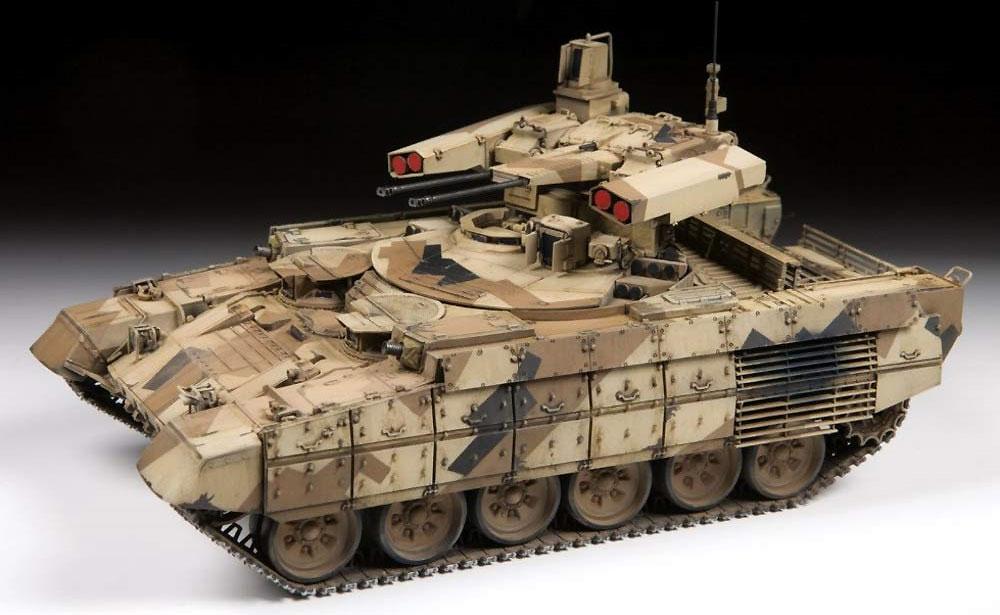 BMPT-72 ターミネーター 2 火力支援戦闘車プラモデル(ズベズダ1/35 ミリタリーNo.3695)商品画像_2