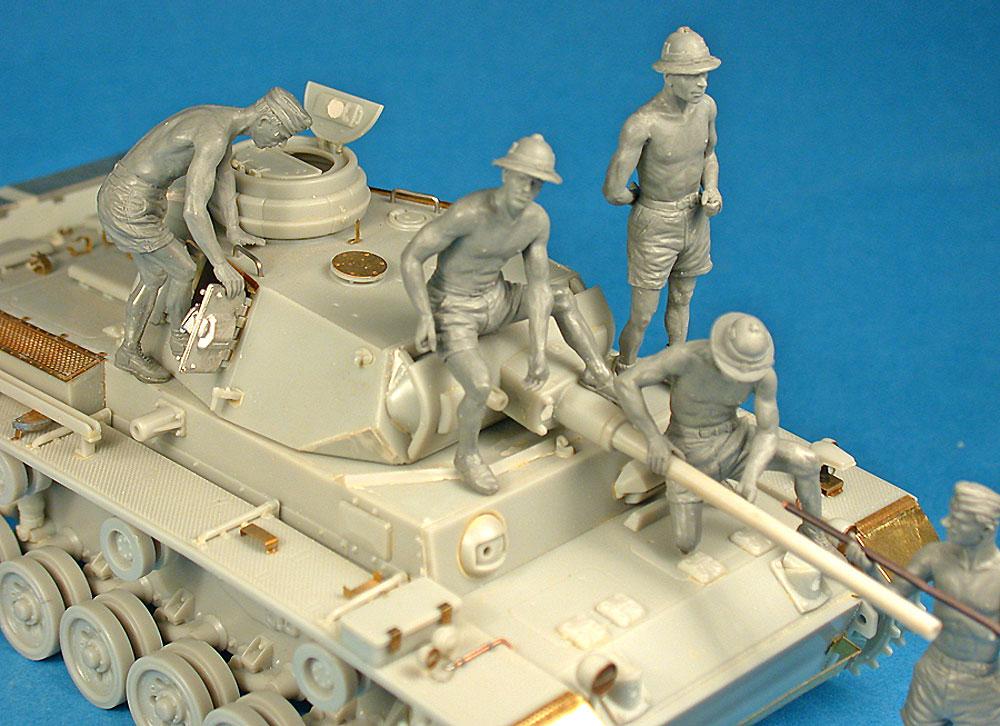 ドイツ 戦車兵 アフリカ兵団 スペシャルエディションプラモデル(ミニアート1/35 WW2 ミリタリーミニチュアNo.35278)商品画像_2