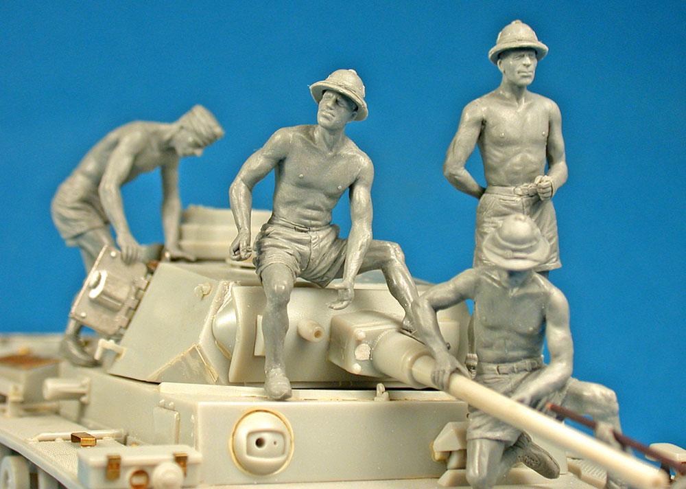 ドイツ 戦車兵 アフリカ兵団 スペシャルエディションプラモデル(ミニアート1/35 WW2 ミリタリーミニチュアNo.35278)商品画像_3
