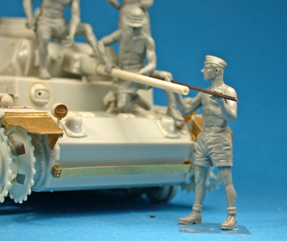 ドイツ 戦車兵 アフリカ兵団 スペシャルエディションプラモデル(ミニアート1/35 WW2 ミリタリーミニチュアNo.35278)商品画像_4