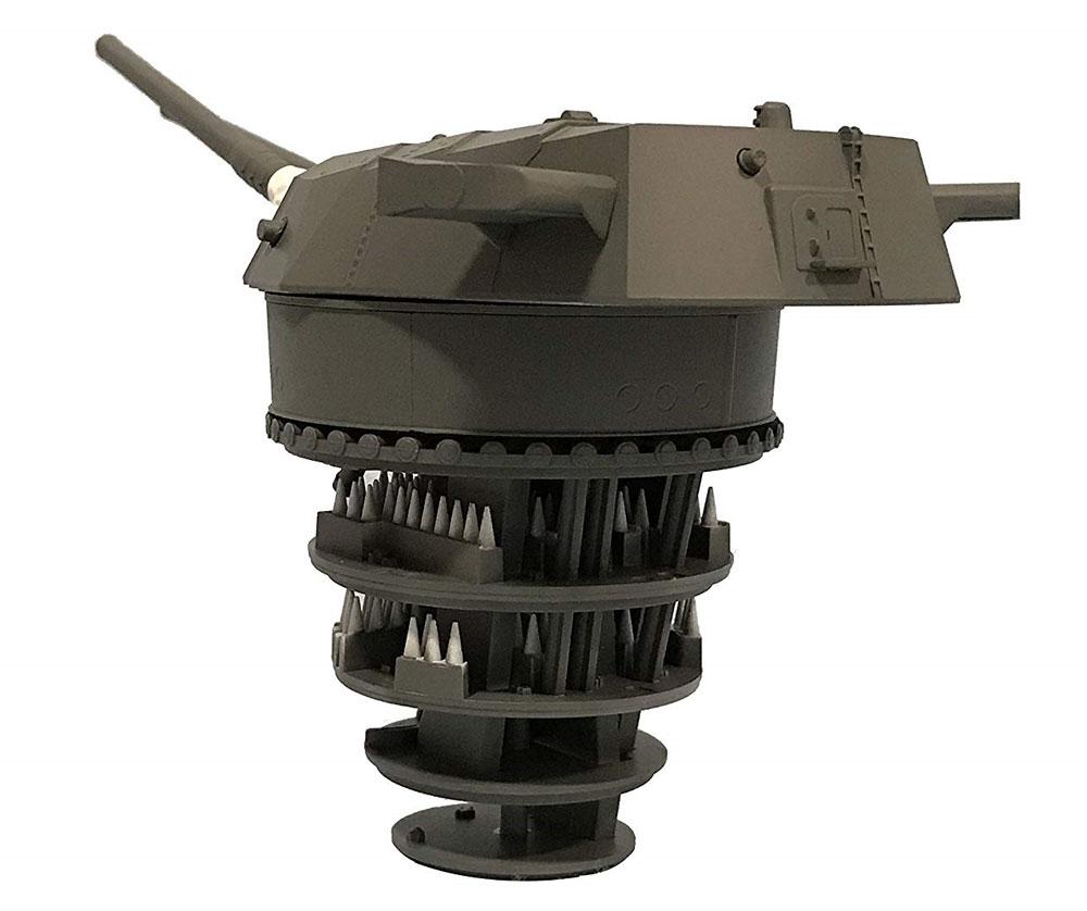 戦艦 大和 九四式 46センチ 3連装 主砲塔プラモデル(フジミ集める装備品シリーズNo.001)商品画像_3