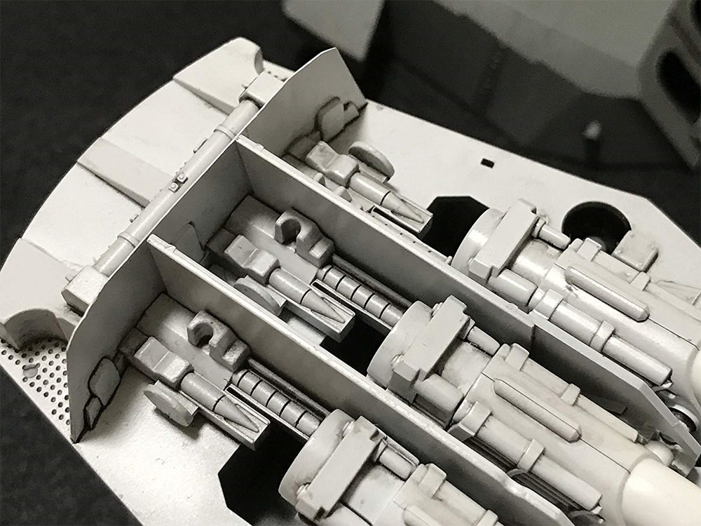 戦艦 大和 九四式 46センチ 3連装 主砲塔プラモデル(フジミ集める装備品シリーズNo.001)商品画像_4