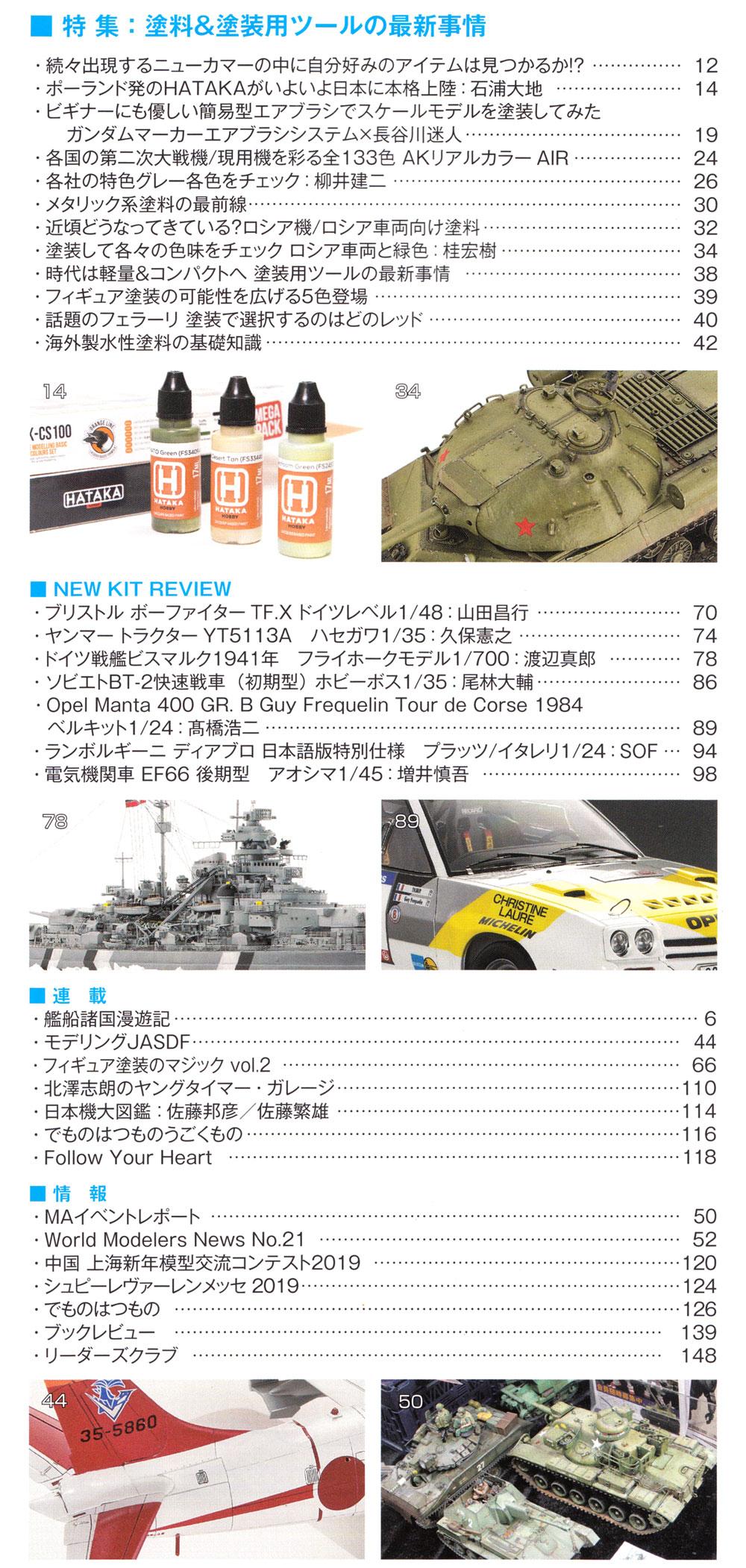 モデルアート 2019年4月号雑誌(モデルアート月刊 モデルアートNo.1010)商品画像_2
