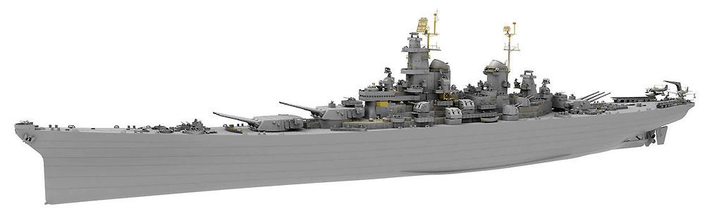 アメリカ海軍 戦艦 ウィスコンシン BB-64プラモデル(ベリーファイア1/350 艦船No.VF350912)商品画像_2