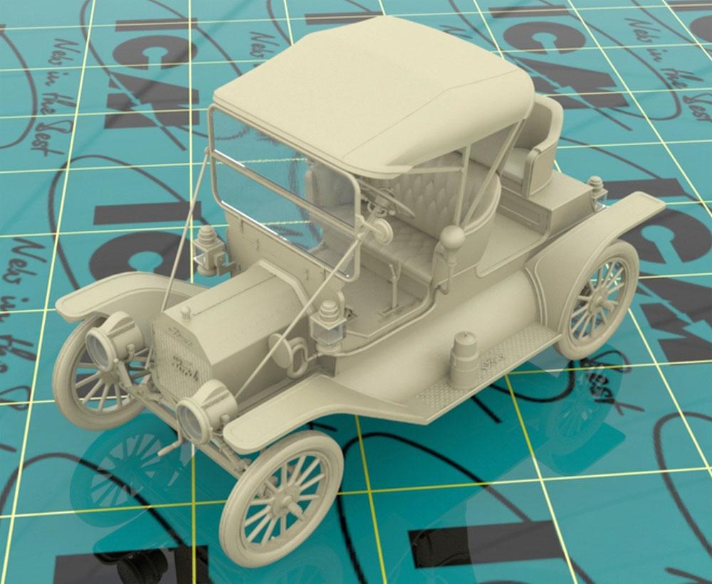 T型フォード 1912 ロードスター 量産型プラモデル(ICM1/24 カーモデルNo.24016)商品画像_2