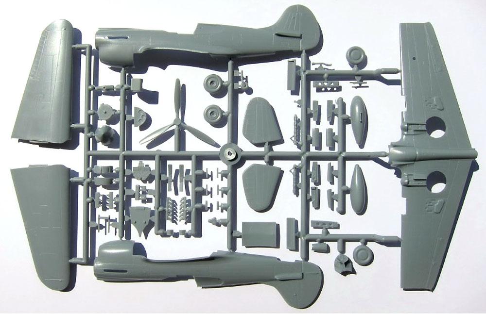 カーチス P-40K ウォーホーク 2in1プラモデル(ソード1/72 エアクラフト プラモデルNo.SW72063)商品画像_2