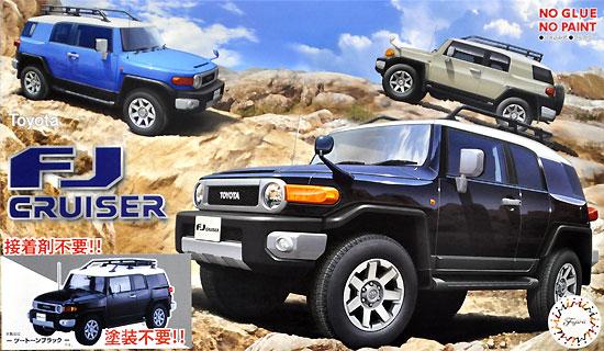 トヨタ FJ クルーザー ツートーンブラックプラモデル(フジミ1/24 カー NEXTNo.009EX001)商品画像