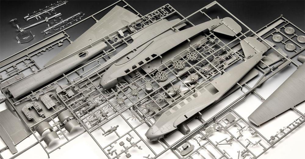 ユンカース Ju52/3mg4e 輸送機プラモデル(レベル1/48 飛行機モデルNo.03918)商品画像_1