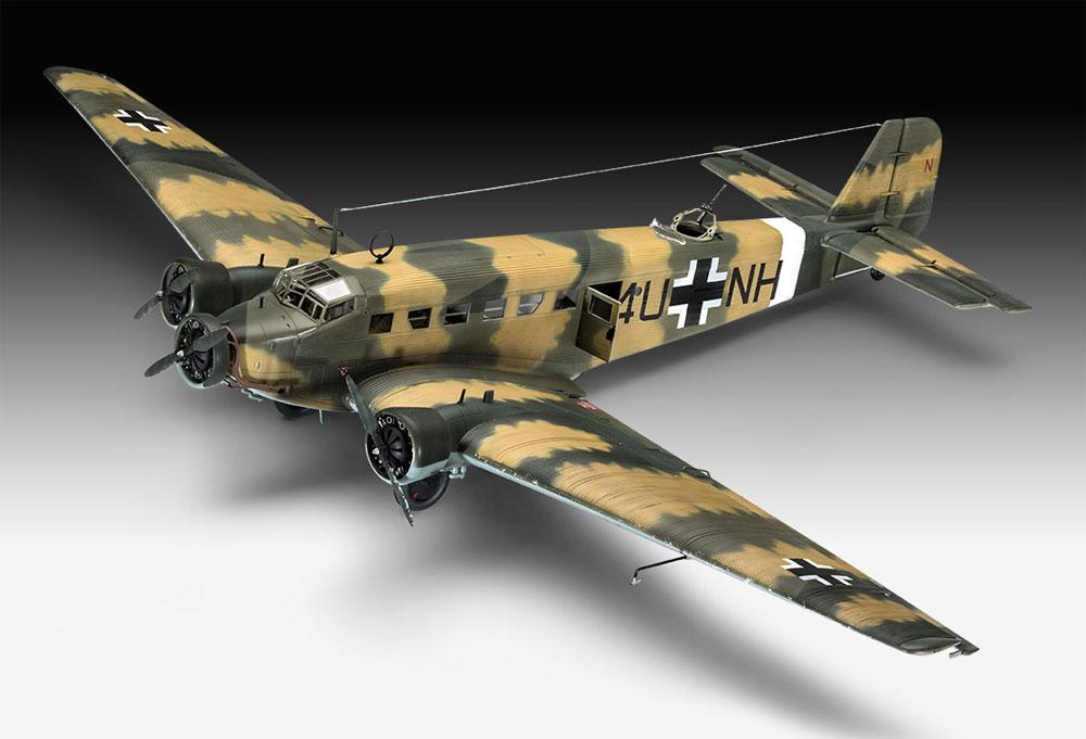 ユンカース Ju52/3mg4e 輸送機プラモデル(レベル1/48 飛行機モデルNo.03918)商品画像_2