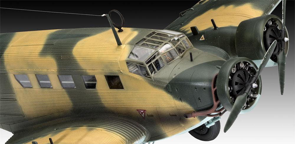ユンカース Ju52/3mg4e 輸送機プラモデル(レベル1/48 飛行機モデルNo.03918)商品画像_3