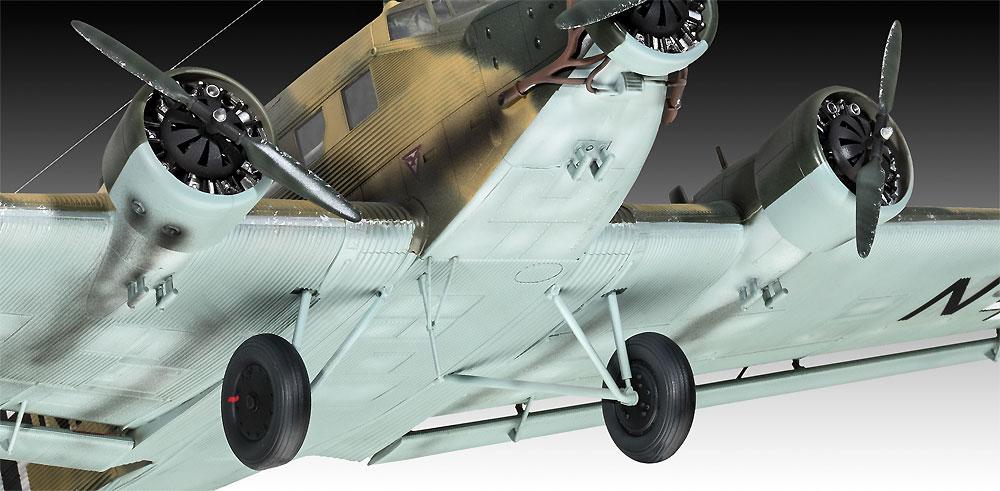 ユンカース Ju52/3mg4e 輸送機プラモデル(レベル1/48 飛行機モデルNo.03918)商品画像_4