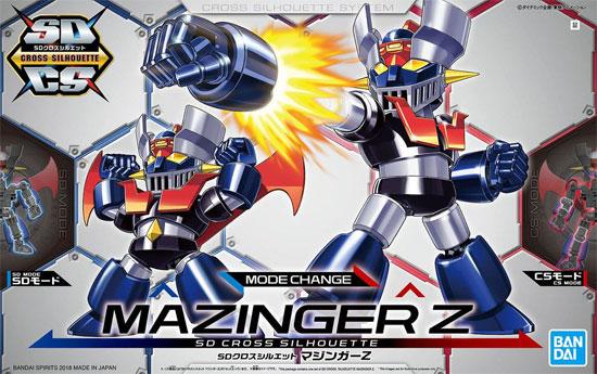 マジンガーZプラモデル(バンダイSDクロスシルエットNo.SDCS-001)商品画像