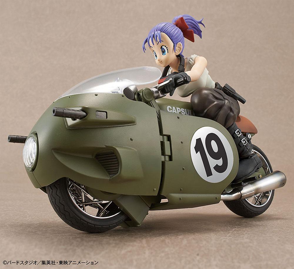 ブルマの可変式 No.19バイクプラモデル(バンダイフィギュアライズ メカニクスNo.5055335)商品画像_1