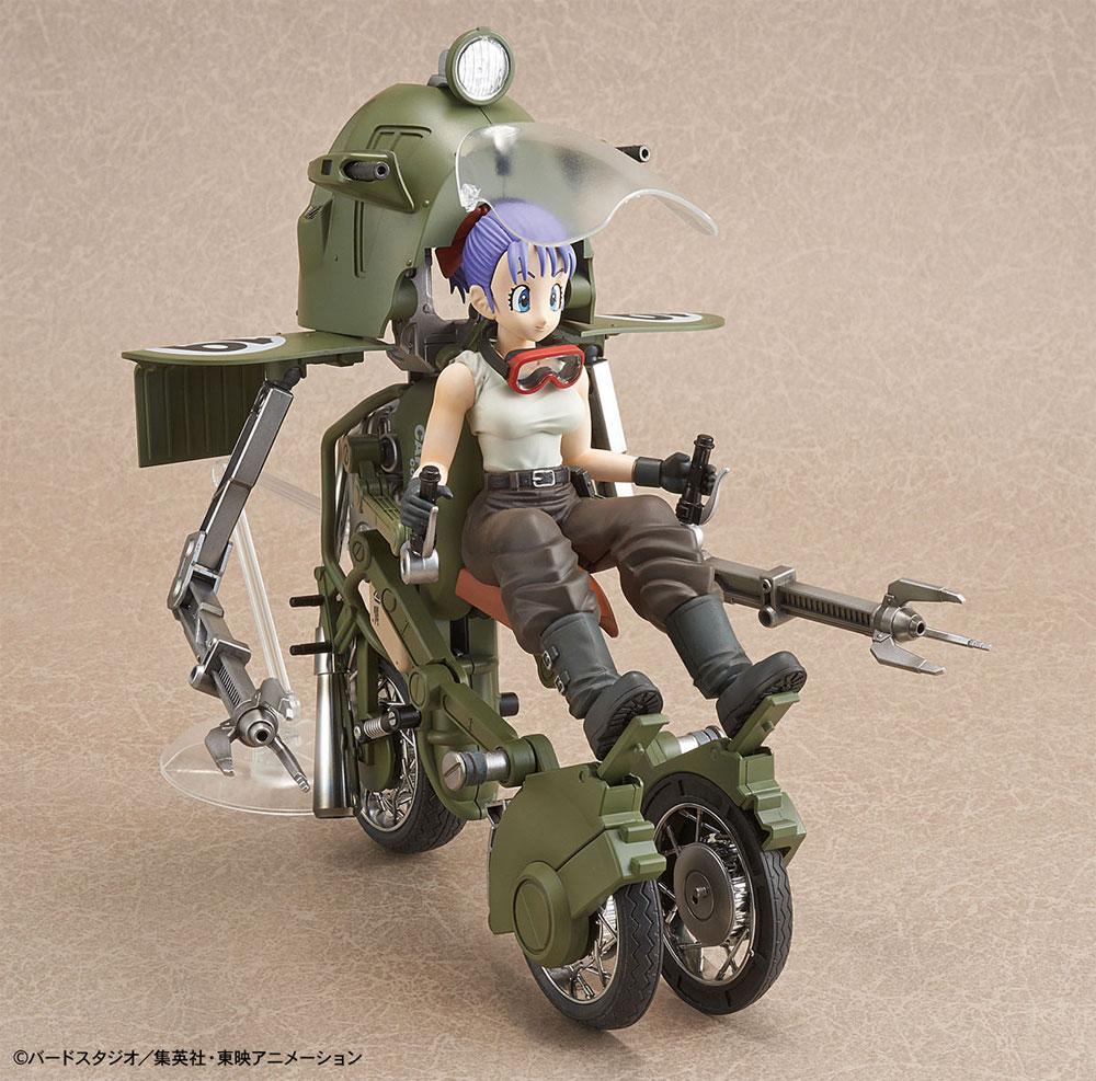 ブルマの可変式 No.19バイクプラモデル(バンダイフィギュアライズ メカニクスNo.5055335)商品画像_3