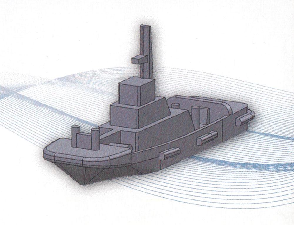 タグボート Aプラモデル(モデリウムGEO Elemental Vessel シリーズNo.007)商品画像_2