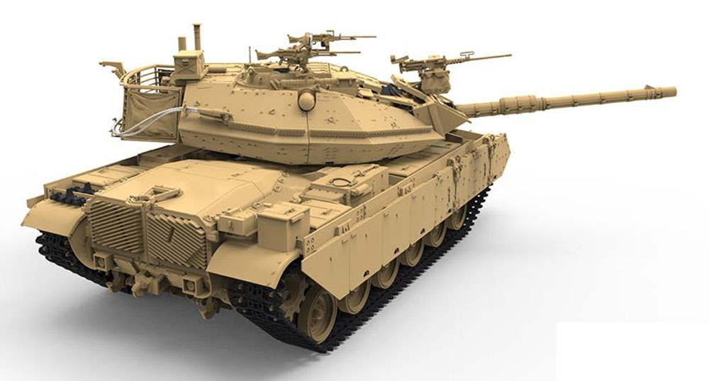 イスラエル 主力戦車 マガフ 6B ガル バタシュプラモデル(MENG-MODEL1/35 ティラノサウルス シリーズNo.TS-040)商品画像_3